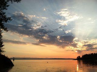 Sunset on Cortes